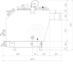 Твердотопливный котел Gefest-Profi S 30 кВт. Фото 3