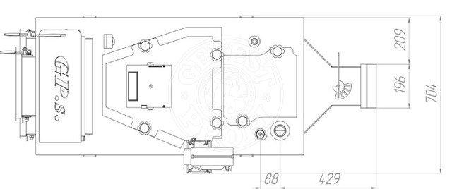 Твердотопливный котел Gefest-Profi S 30 кВт. Фото 4
