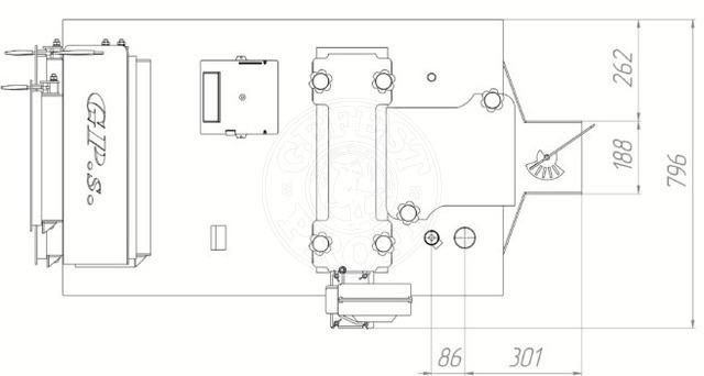 Твердотопливный котел Gefest-Profi S 40 кВт. Фото 4