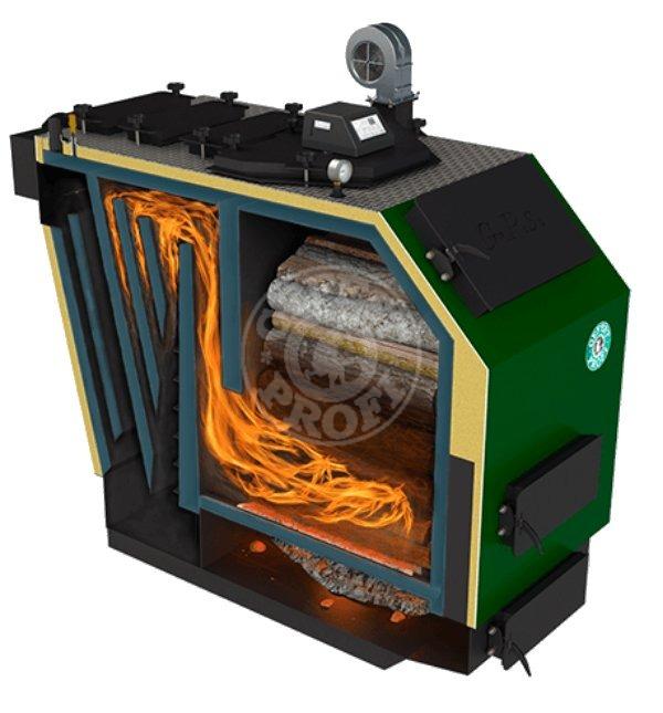 Твердотопливный котел Gefest-Profi S 80 кВт. Фото 2