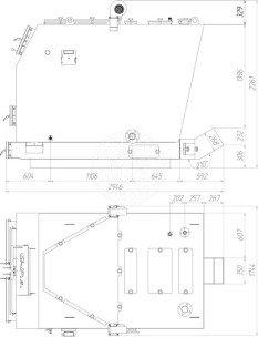 Твердотопливный котел Gefest-Profi S 400 кВт. Фото 3