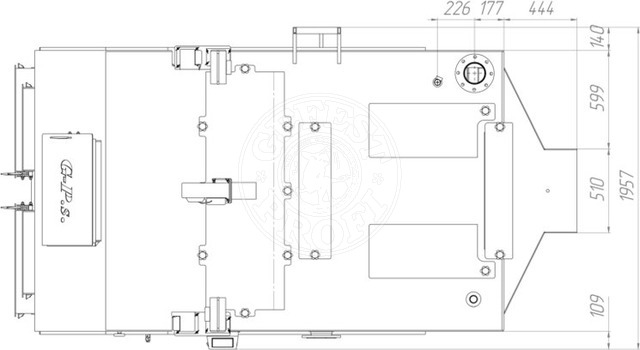 Твердотопливный котел Gefest-Profi S 600 кВт. Фото 3