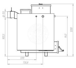 Твердотопливный котел Gefest-Profi Z 16 кВт. Фото 3