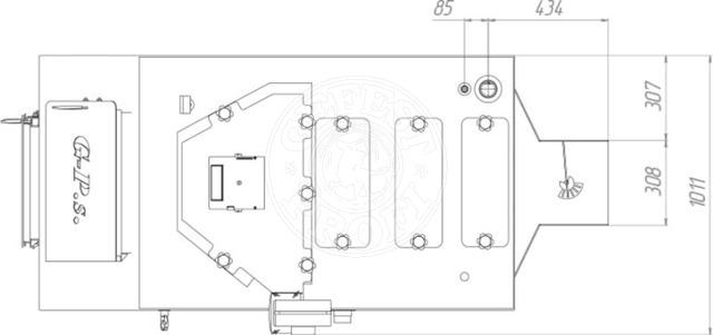 Твердотопливный котел Gefest-Profi S 800 кВт. Фото 2