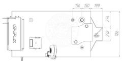 Твердотопливный котел Gefest-Profi U 70 кВт. Фото 3