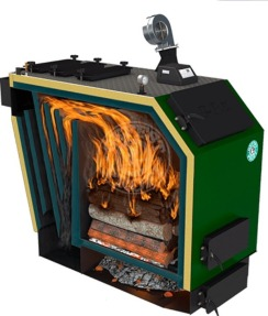 Твердотопливный котел Gefest-Profi U 98 кВт. Фото 2