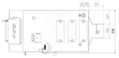 Твердопаливний котел Gefest-Profi U 150 кВт. Фото 2