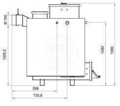 Твердотопливный котел Gefest-Profi Z 20 кВт. Фото 3