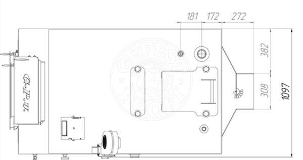 Твердотопливный котел Gefest-Profi U 200 кВт. Фото 2