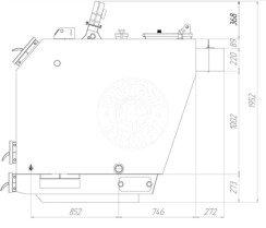Твердотопливный котел Gefest-Profi U 200 кВт. Фото 3