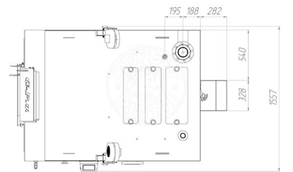 Твердопаливний котел Gefest-Profi U 400 кВт. Фото 2