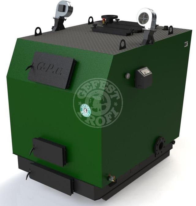 Твердопаливний котел Gefest-Profi U 400 кВт