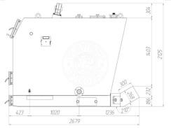 Твердотопливный котел Gefest-Profi U 500 кВт. Фото 3