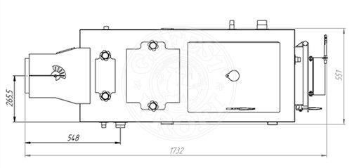 Твердотопливный котел Gefest-Profi Z 28 кВт. Фото 4