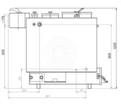 Твердотопливный котел Gefest-Profi Z 28 кВт. Фото 3