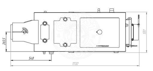 Твердопаливний котел Gefest-Profi Z 28 кВт. Фото 4