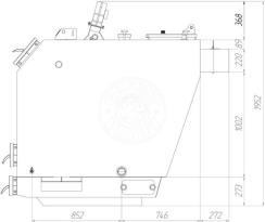 Твердотопливный котел Gefest-Profi V 250 кВт. Фото 3
