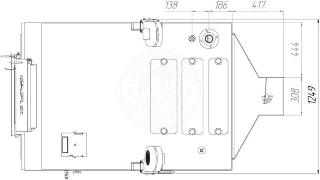Твердотопливный котел Gefest-Profi V 350 кВт. Фото 2