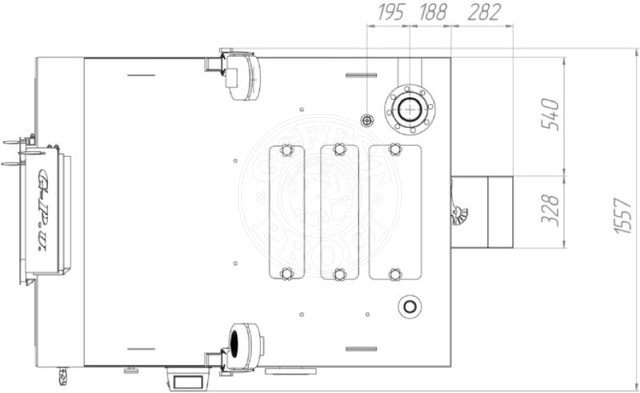 Твердотопливный котел Gefest-Profi V 500 кВт. Фото 2