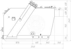 Твердотопливный котел Gefest-Profi V 1000 кВт. Фото 3