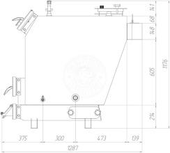 Твердотопливный котел Gefest-Profi P 25 кВт. Фото 3