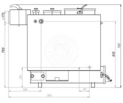 Твердотопливный котел Gefest-Profi Z 24 кВт. Фото 3