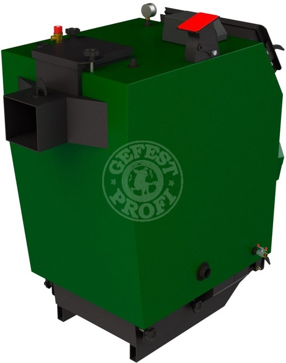 Твердопаливний котел Gefest-Profi P 40 кВт. Фото 2