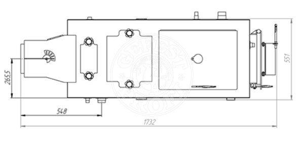 Твердотопливный котел Gefest-Profi Z 32 кВт. Фото 4