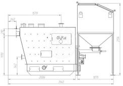 Автоматизированный комплекс Gefest-Profi A 98 кВт для всех видов пеллеты. Фото 3