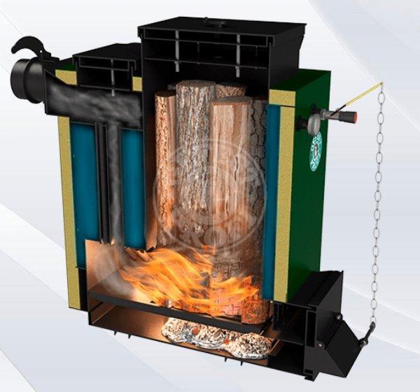 Твердопаливний котел Gefest-Profi Z 36 кВт. Фото 2