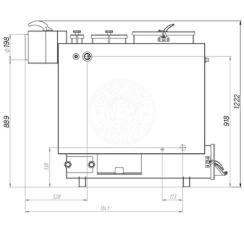 Твердопаливний котел Gefest-Profi Z 36 кВт. Фото 3