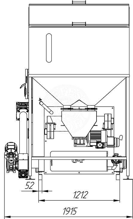 Автоматизированный комплекс Gefest-Profi A 500 кВт для всех видов пеллеты. Фото 3
