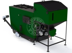 Автоматизированный комплекс Gefest-Profi A 500 кВт для всех видов пеллеты
