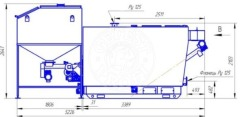 Автоматизированный комплекс Gefest-Profi A 600 кВт для всех видов пеллеты. Фото 3