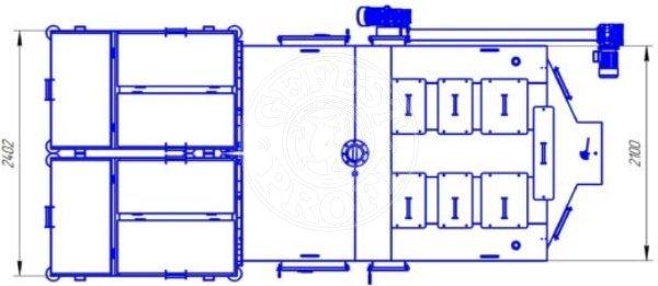 Автоматизированный комплекс Gefest-Profi A 800 кВт для всех видов пеллеты. Фото 6