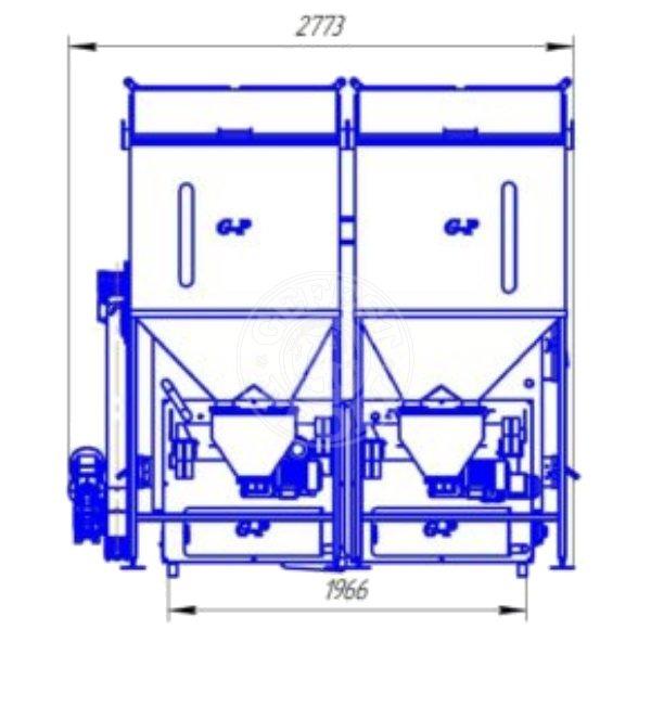 Автоматизированный комплекс Gefest-Profi A 800 кВт для всех видов пеллеты. Фото 3