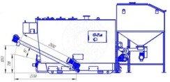 Автоматизированный комплекс Gefest-Profi A 800 кВт для всех видов пеллеты. Фото 4