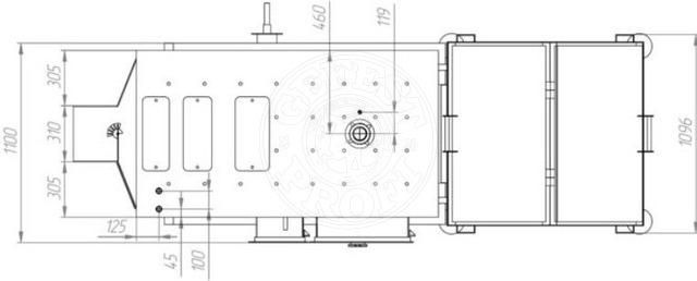 Автоматизований комплекс Gefest-Profi A 98 кВт для пелети з малою зольністю. Фото 5