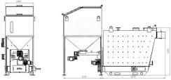 Автоматизированный комплекс Gefest-Profi A 150 кВт для пеллеты с малой зольностью. Фото 4