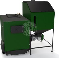 Автоматизований комплекс Gefest-Profi A 200 кВт для пелети з малою зольністю