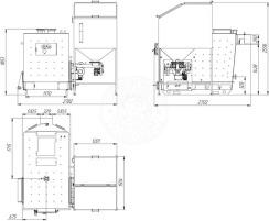 Автоматизированный комплекс Gefest-Profi A 250 кВт для пеллеты с малой зольностью. Фото 4