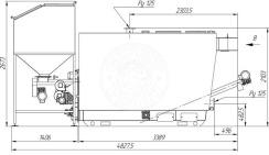 Автоматизированный комплекс Gefest-Profi A 500 кВт для пеллеты с малой зольностью. Фото 5