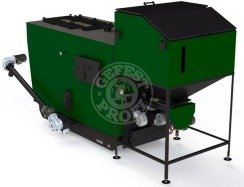 Автоматизированный комплекс Gefest-Profi A 700 кВт для пеллеты с малой зольностью. Фото 2