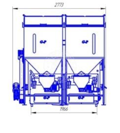 Автоматизований комплекс Gefest-Profi A 800 кВт для пелети з малою зольністю. Фото 4