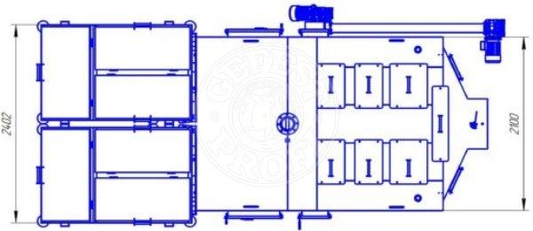 Автоматизований комплекс Gefest-Profi A 800 кВт для пелети з малою зольністю. Фото 7