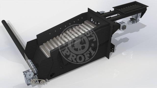 Автоматизированный комплекс Gefest-Profi A 1000 кВт для пеллеты с малой зольностью. Фото 2