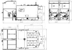 Автоматизированный комплекс Gefest-Profi A 1500 кВт для пеллеты с малой зольностью. Фото 3