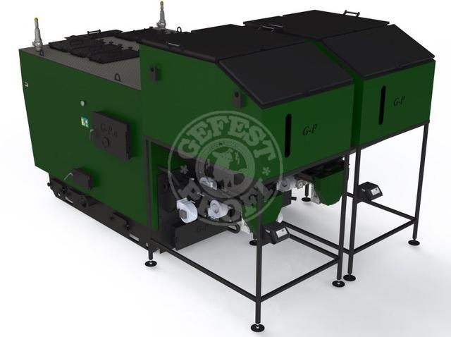 Автоматизований комплекс Gefest-Profi A 2000 кВт для пелети з малою зольністю